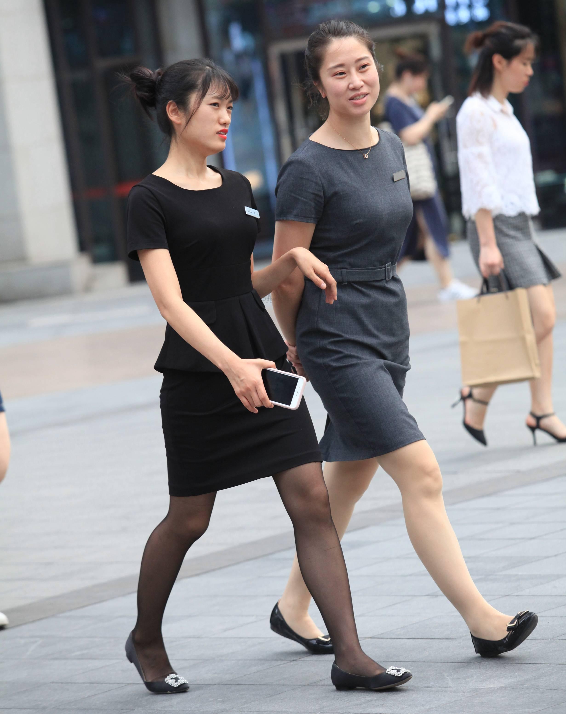 街拍OL,街拍黑丝 【珏一笑而过】漂亮黑丝 OL 最新街拍丝袜图片 街拍丝袜第一站
