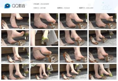 天堂的金币视频  重口味Shao Fu裸足 街拍第一站全网原创独发!