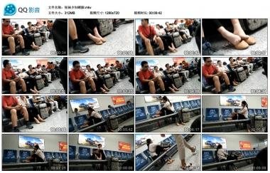 我爱熟女视频  短袜Shao Fu晒脚 街拍第一站全网原创独发!