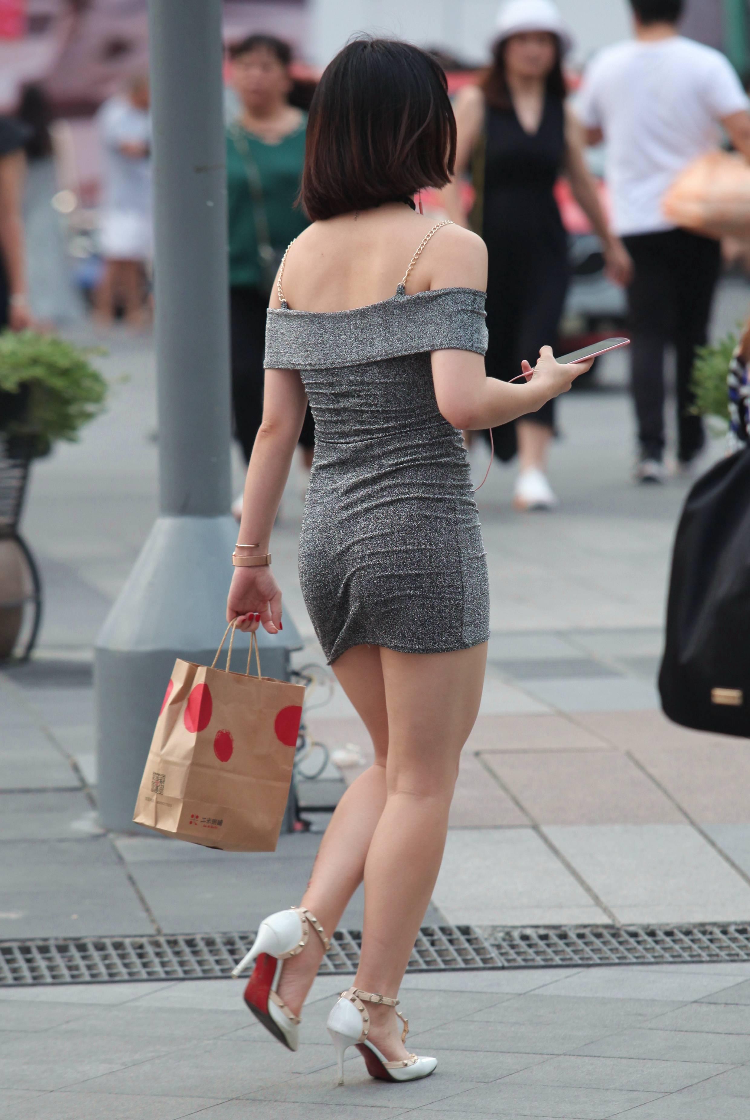 【珏一笑而过】诱惑 包臀裙Shao Fu