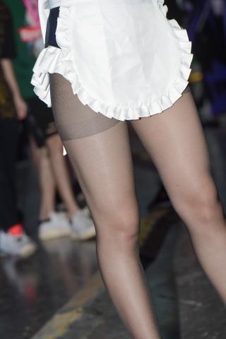 高清超精细大长腿街拍高跟黑丝cos。魅力啊美丽