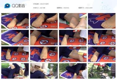天堂的金币视频  棋盘垫子上狂拍Shao Fu街拍丝脚 街拍第一站全网原创独发!