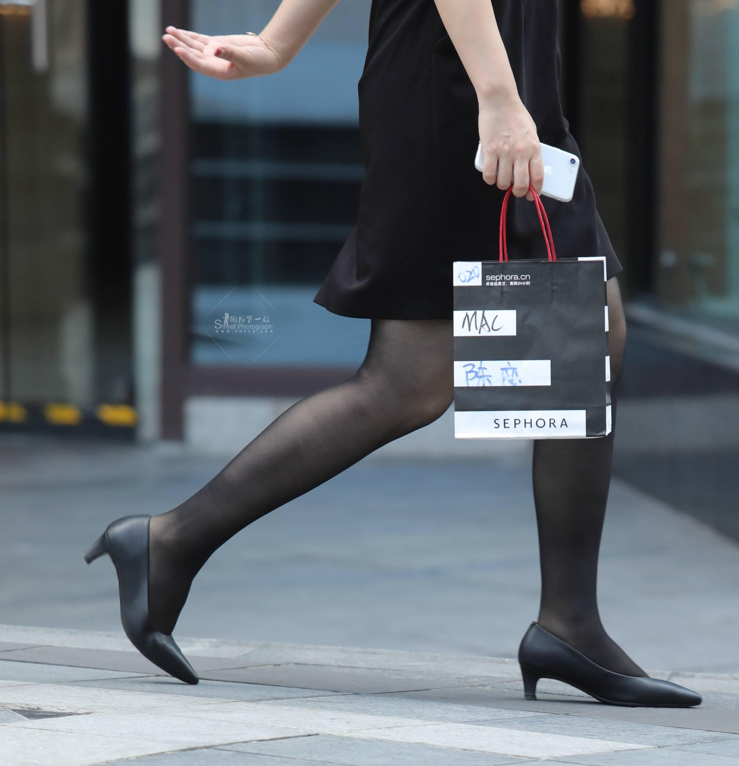 街拍黑丝,街拍高跟,街拍OL,街拍黑丝高跟 【珏一笑而过】 黑丝高跟OL 最新街拍丝袜图片 街拍丝袜第一站