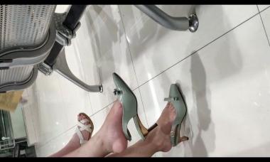 爱在provence视频  街拍美女各种挑鞋5分钟 街拍第一站全网原创独发!