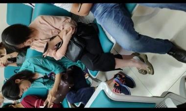 爱在provence视频  美女街拍挑鞋放松5分钟 街拍第一站全网原创独发!