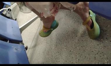爱在provence视频  大美女疯狂街拍挑鞋 街拍第一站全网原创独发!