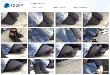 天堂的金币视频  美街拍少女的靴子穿得不太舒服 街拍第一站全网原创独发!