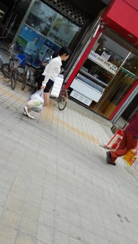 [原创练习作业/水平提高交流]  逛完**的街拍超薄肉丝袜**Shao Fu[9P] 街拍第一站全网原创独发!