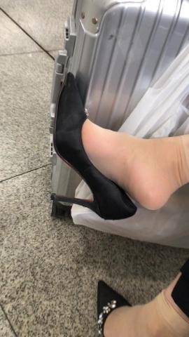 视频金币超市  火车站浪荡Shao Fu街拍挑鞋 街拍第一站全网原创独发!