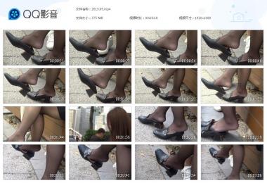 天堂的金币视频  街拍黑丝挑鞋的美女 街拍第一站全网原创独发!