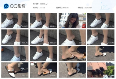 天堂的金币视频  小美女和小Shao Fu害羞的街拍丝脚 街拍第一站全网原创独发!
