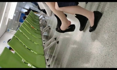 爱在provence视频  美女街拍挑鞋2 街拍第一站全网原创独发!