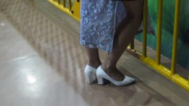 小胡高跟视频  小胡发布-- 2019年6街拍丝袜长腿高跟街拍 187 街拍第一站全网原创独发!