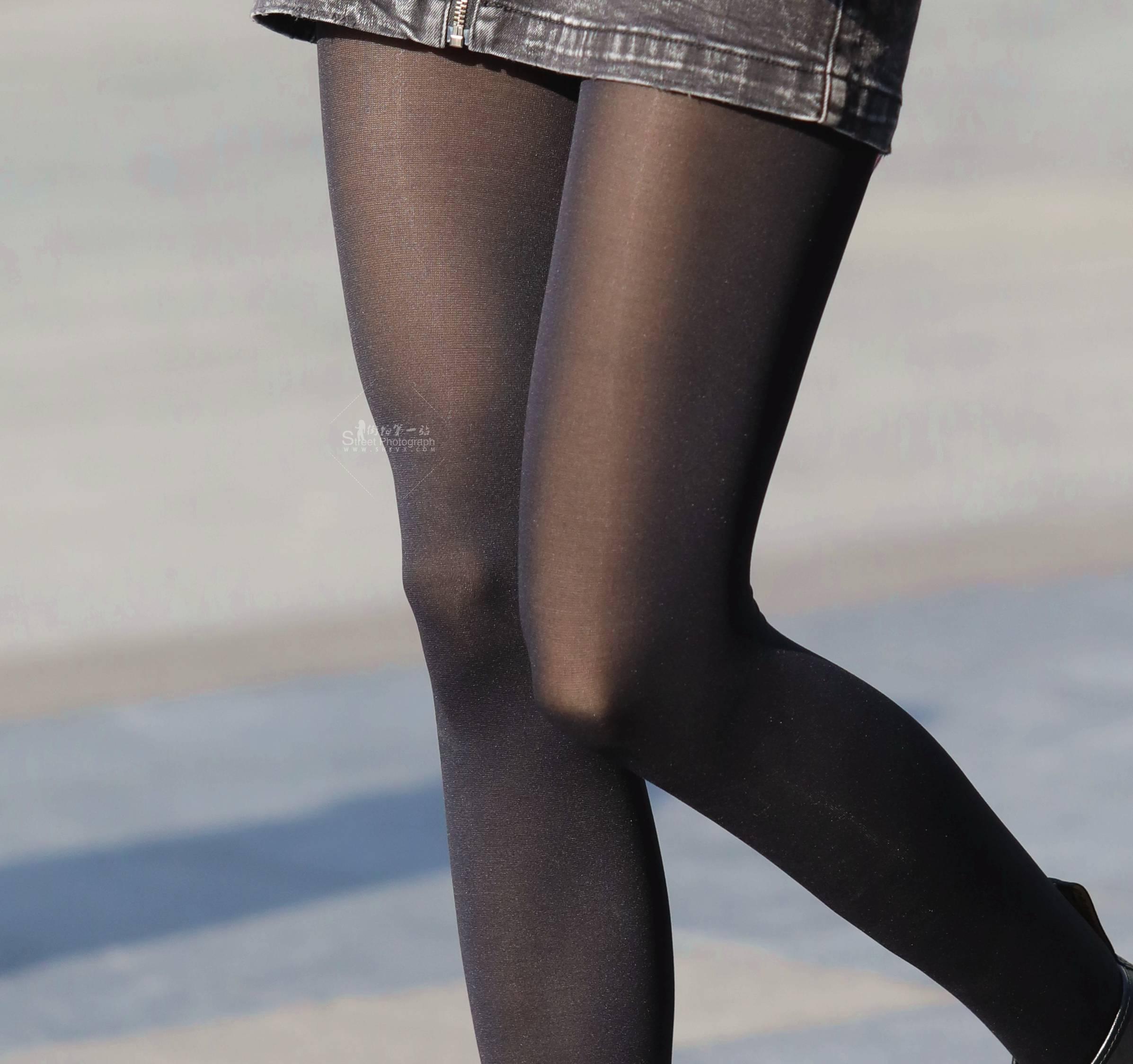 【珏一笑而过】诱惑街拍黑丝短裙 - 签约原创独发作品- 街拍第一站