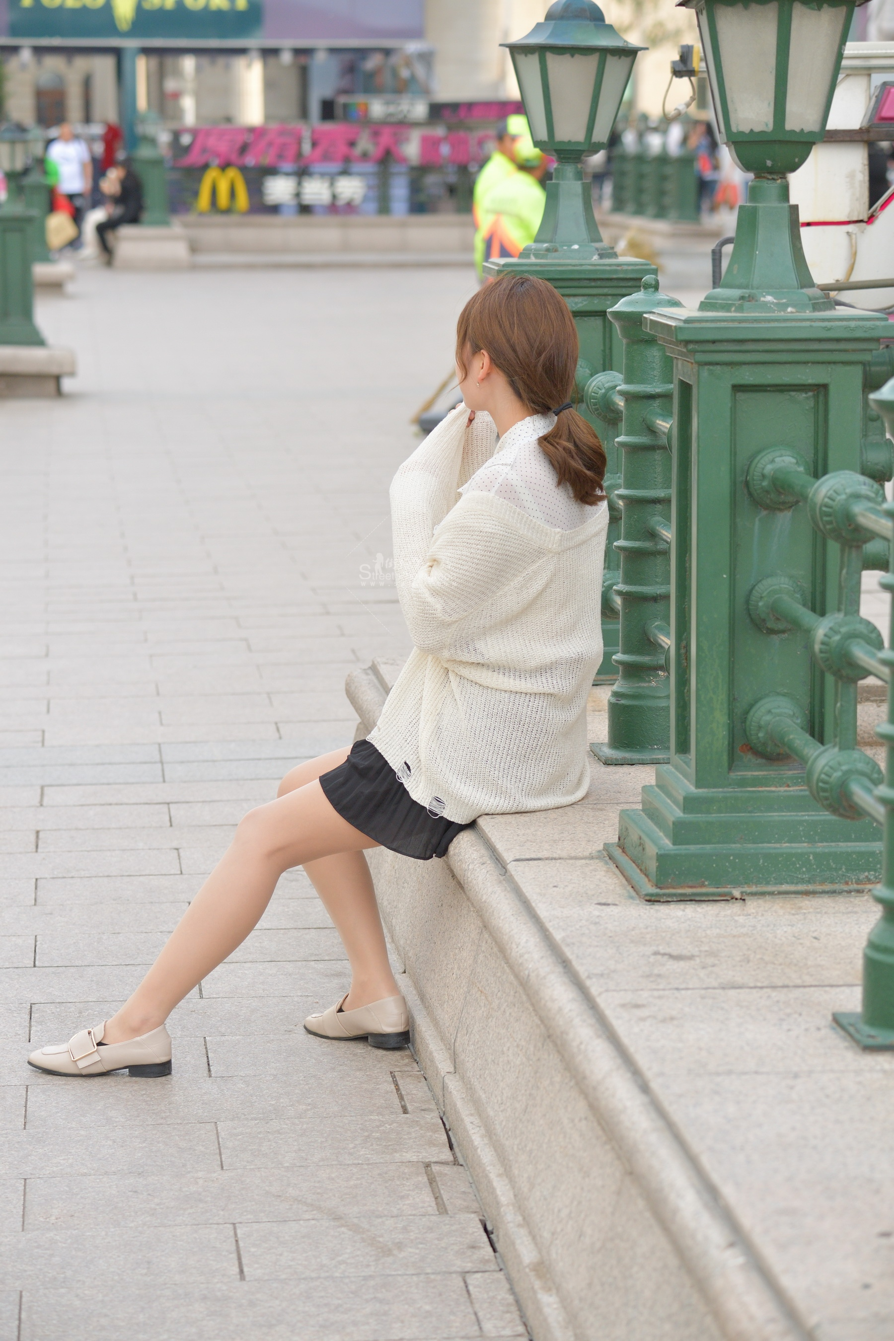 黑裙肉 丝袜