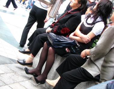 【jim2】漂亮的 長腿黑絲美女(15p)
