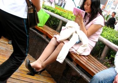 【jim2】漂亮的 長腿肉絲襪美女(15p)