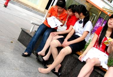 [权限要求:三年期VIP及以上]  【jim2】肉 丝 袜 袜长腿   美 女 (20p) 街拍第一站全网原创独发!
