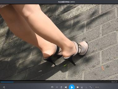 徐香视频  肉  丝 袜 凉高拖--2个 视 频 街拍第一站全网原创独发!