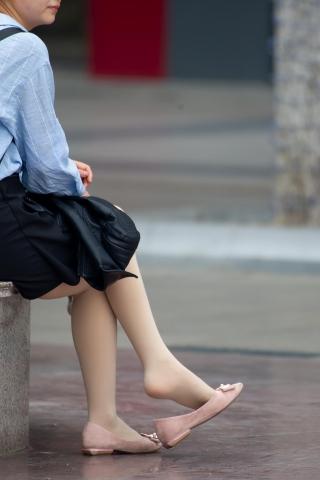 【原創】輕街拍牛仔褲韓國女明星熟休閑 絲襪挑鞋【12P】