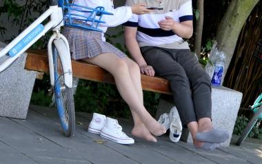 [权限要求:三年期VIP及以上]  【jim2】 长腿 肉 丝 袜  美 女 (20p) 街拍第一站全网原创独发!