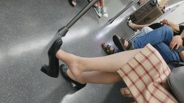 BBC视频  131 肉 丝 袜 挑鞋 街拍第一站全网原创独发!