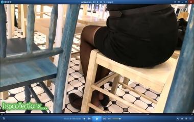 HSP视频  【HSP's video1080P】座位下脱鞋的  黑 丝 MM[02:55] 街拍第一站全网原创独发!