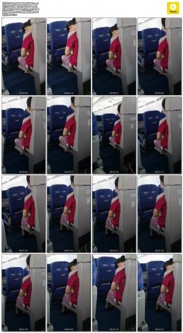 xiangzhou视频  飞机上快睡着了的空乘 小姐姐 街拍第一站全网原创独发!