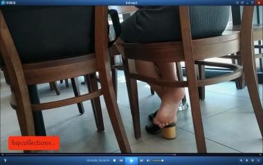 HSP视频  【HSP's video1080P】桌下光脚  少 妇 [06:04] 街拍第一站全网原创独发!