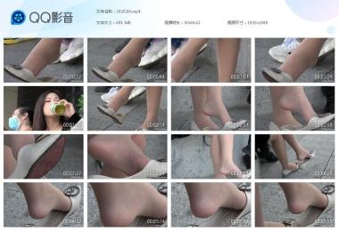 天堂的金币视频  【天堂的金币作品】—美 少 女   挑鞋停不下来 街拍第一站全网原创独发!