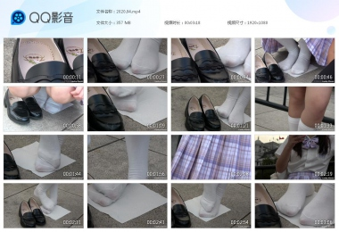 天堂的金币视频  【天堂的金币作品】—白袜  少 女  踩纸晾脚 街拍第一站全网原创独发!