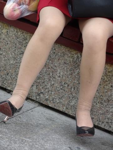 褶皱丝 袜——12P - 签约原创独发- 街拍第一站