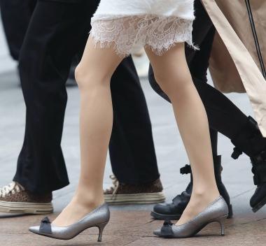 【珏一笑而过】肉 丝高跟妹子 - VIP街拍图片发布- 街拍第一站
