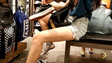 洗面奶视频  长腿豹纹棉袜美 女试鞋[02:14] 街拍第一站全网原创独发!