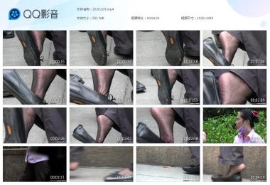 天堂的金币视频  【天堂的金币作品】—地铁工作人员玩鞋的诱惑 街拍第一站全网原创独发!