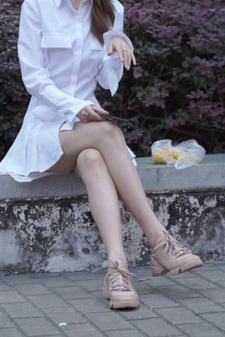 长腿女神 - VIP街拍图片发布- 街拍第一站