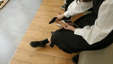 洗面奶视频  二次元棉套肉 丝**小美 女试穿高跟鞋[03:08] 街拍第一站全网原创独发!