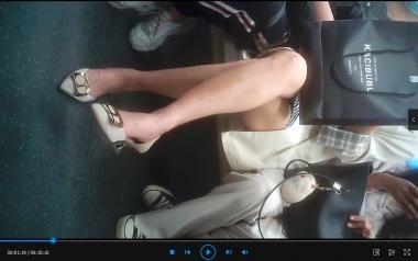 苏大熊视频  九头身高跟OL的多变坐姿(10分钟) 街拍第一站全网原创独发!
