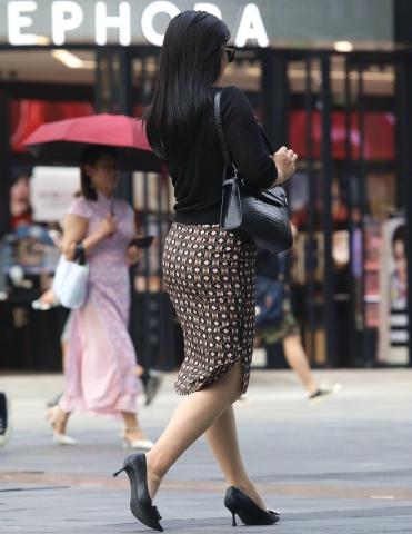 【珏一笑而过】诱惑肉 丝**轻熟-15P - VIP街拍图片发布- 街拍第一站
